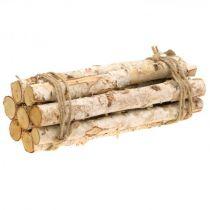 Écorces, rondins de bois