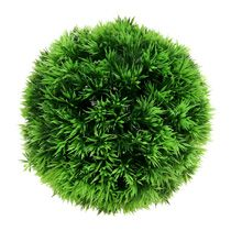 Boules de plantes artificielles