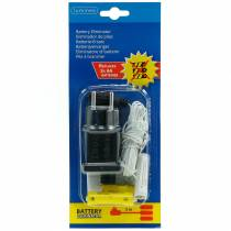 Adaptateur de batterie blanc 3m 4,5V 3 x AA