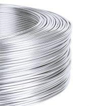 Fil d'aluminium 1 mm 250 g argent