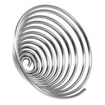 Ver métallique ver métallique argent 2mm 120cm 2pcs
