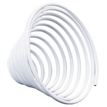 Ver en fil d'aluminium blanc 2mm 120cm