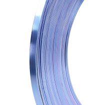 Fil plat aluminium lilas 5mm 10m