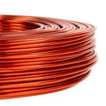 Fil en aluminium Ø 2 mm 500 g 60 m orange