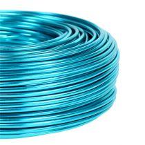 Fil en aluminium Ø 2 mm 500 g 60 m turquoise