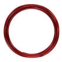 Fil en aluminium 2 mm 100 g rouge