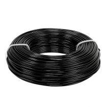 Fil en aluminium Ø 2 mm 500 g 60 m noir