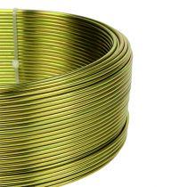 Fil en aluminium Ø 2 mm vert olive 500 g (60 m)