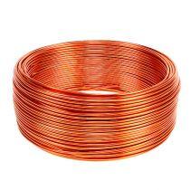 Fil en aluminium orange Ø 2 mm 500 g 60 m