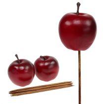 Pomme artificielle rouge Ø5.5cm 12pcs