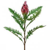 Artichaut Artichaut Rose Plantes Artificielles Déco Automne H68cm