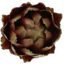 Artichaut vert, violet Ø12cm H13cm