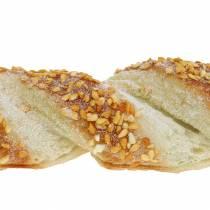 Bâton de sésame et bâton de graines de pavot Mannequin de nourriture artificielle assortis 25cm 2pcs