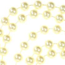 Ruban De Perle Crème 10mm 6m