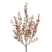 Branche de baies artificielles rouges 48 cm 1 p.