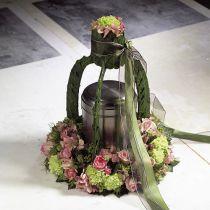 Couronne de bague en mousse florale de différentes tailles