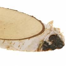 Rondelles de bouleau Ovale Naturelles 4×8cm 1kg