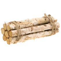 Branches de bouleau en paquet naturel 30cm 8pcs
