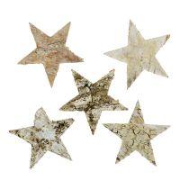 Étoiles de bouleau 6cm 100p