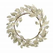 Guirlande de feuilles artificielle pointe de champagne feuilles Ø48cm