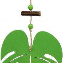 Feuille vert à suspendre 14,5 cm