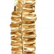 Feuille de fougère dorée 87cm