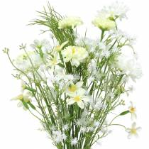 Bouquet d'asters Blanc 47cm