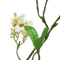 Branche de fleurs blanches L. 65 cm 1 p.