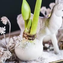 Cire à tremper fleur 1kg blanc
