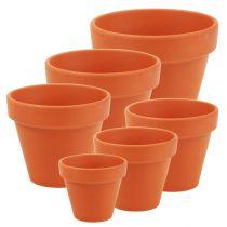 Pot à fleurs en argile 10 pièces