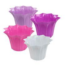Pot de fleurs en plastique Ø 17 cm h. 11,5 cm 10 p.