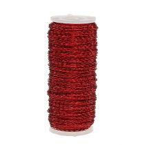 Fil effet bouillon Ø0,30mm 100g/140m Rouge