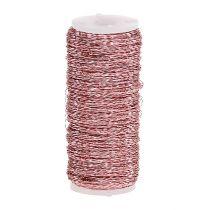 Fil effet bouillon  Ø0,30mm 100g/140m rose pâle