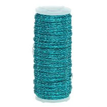 Fil effet bouillon Ø0,30mm 100g/140m Turquoise