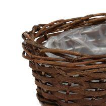Panier à pain ovale non écorcé 20 cm H. 8 cm
