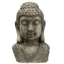 Tête de bouddha H. 55 cm