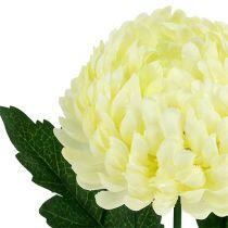 Crème de chrysanthème artificielle Ø7cm L18cm