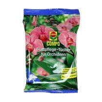 Lingettes de soin des feuilles Compo pour orchidées 10pcs