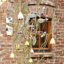 Cintre décoration fleurs en métal tulipe 6cm 3pcs