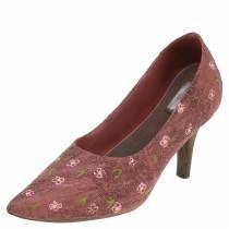 Escarpin déco à chaussures marron 24cm × 8cm H13,6cm