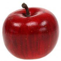 Décoratif rouge pomme brillant 4.5cm 12pcs