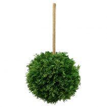 Boule de plantes artificielle à suspendre vert Ø 20 cm