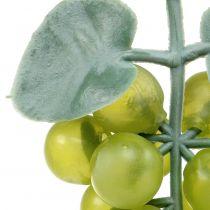 Raisins déco petit vert 10cm