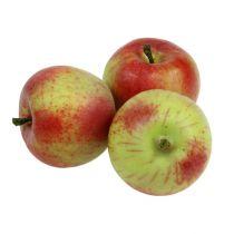 Décoratif rouge pomme, vert Ø6cm 6pcs
