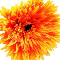 Gerbera décoratif orange Ø 17 cm L. 88 cm