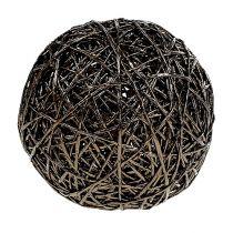 Boule décorative brun foncé Ø 15 cm