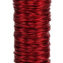 Fil de laque déco Ø0.30mm 30g / 50m rouge