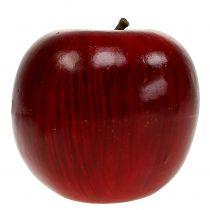 Pommes déco rouges, laquées Ø8cm 6pcs