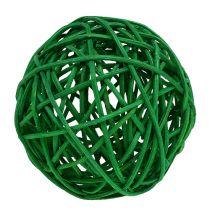 Mélange de balles décoratives vertes 7 cm 18 p.