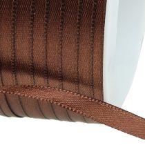 Ruban cadeau brun 3 mm x 50 m